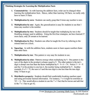 From Strategies for Learning Math Facts-page-001